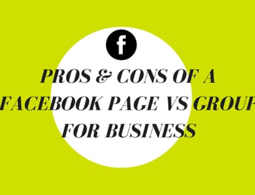 Pros and Cons of Having a Facebook Page vs a Facebook Group for Business