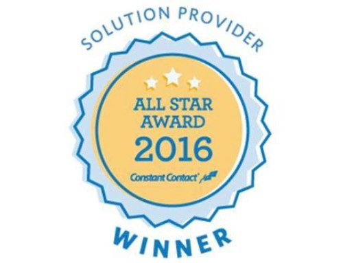 Vanessa Cabrera Earns 2016 Constant Contact Email Marketing Allstar Award